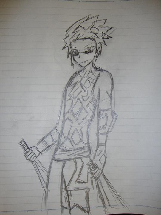 My FEZ drawings and Saku Dsc00713