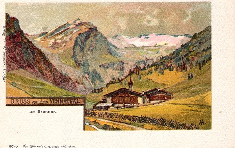Alte Ansichten aus dem Wipptal Vennta10