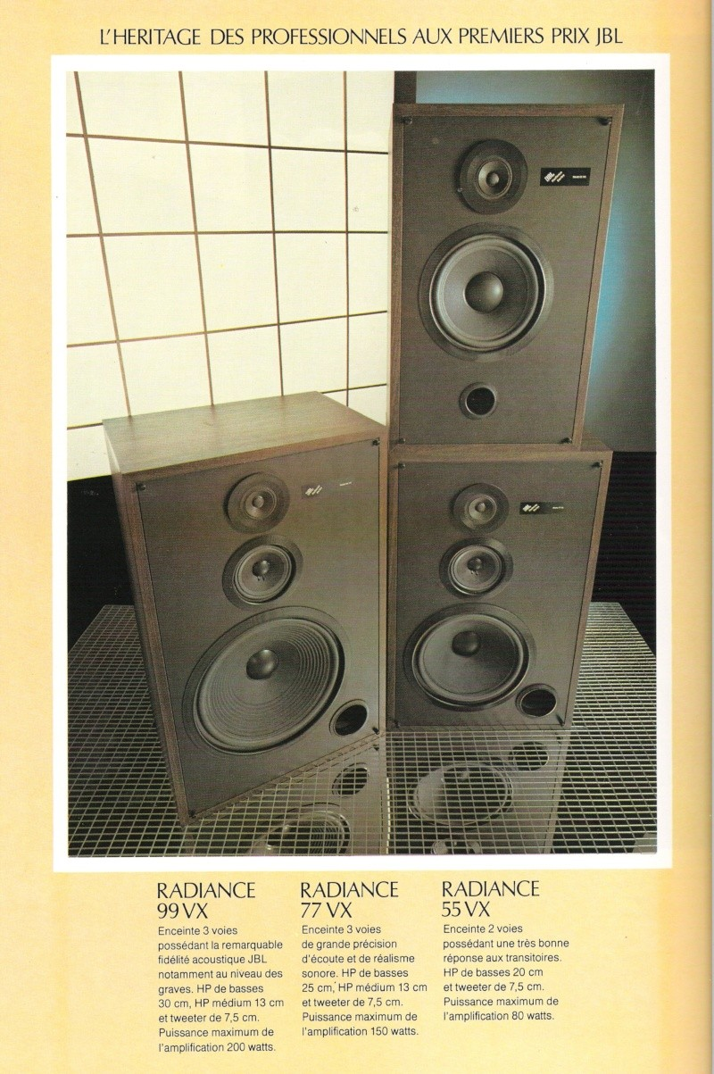 Serie RADIANCE 99VX - 77VX - 55VX Pub_ra10
