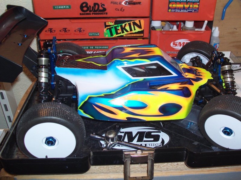 Mon projet Buggy 1/8 Asso RC8BE - Page 4 Rc810