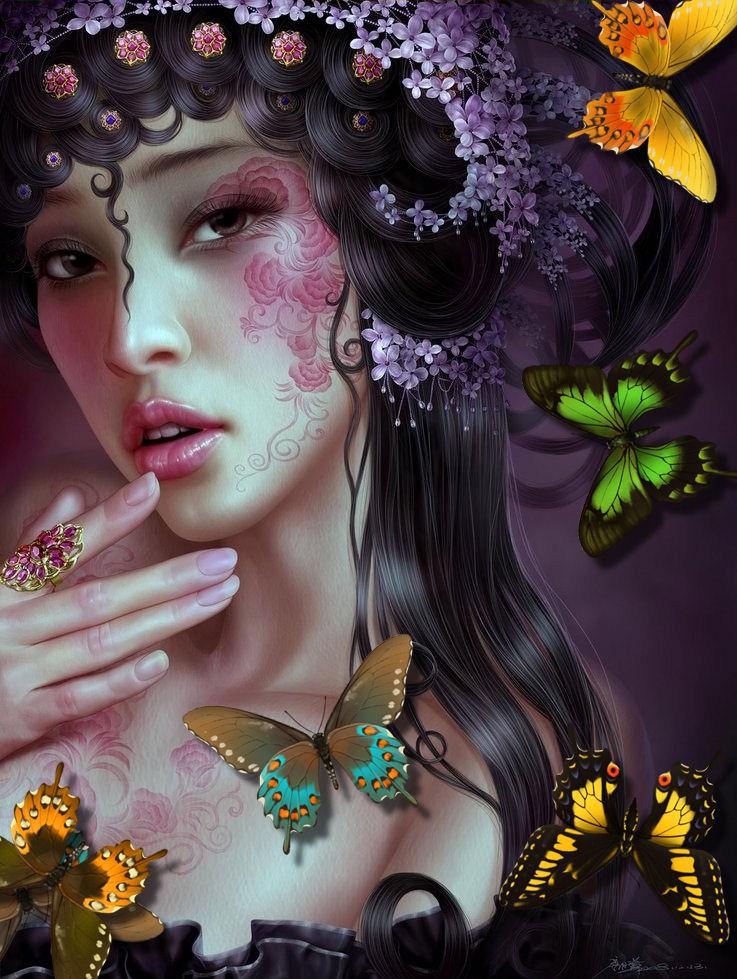Butterfly Tarocchi ♥๑۩ ۩๑♥♥๑۩ ۩๑♥