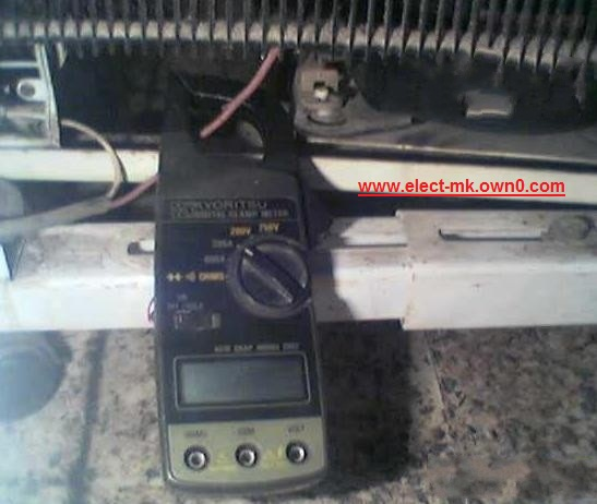 Measuring device Amp  Clamp meter Clamp_10