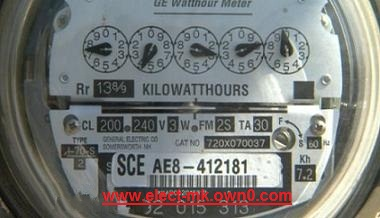 A device to measure electrical power meter   Power Meter Electr15