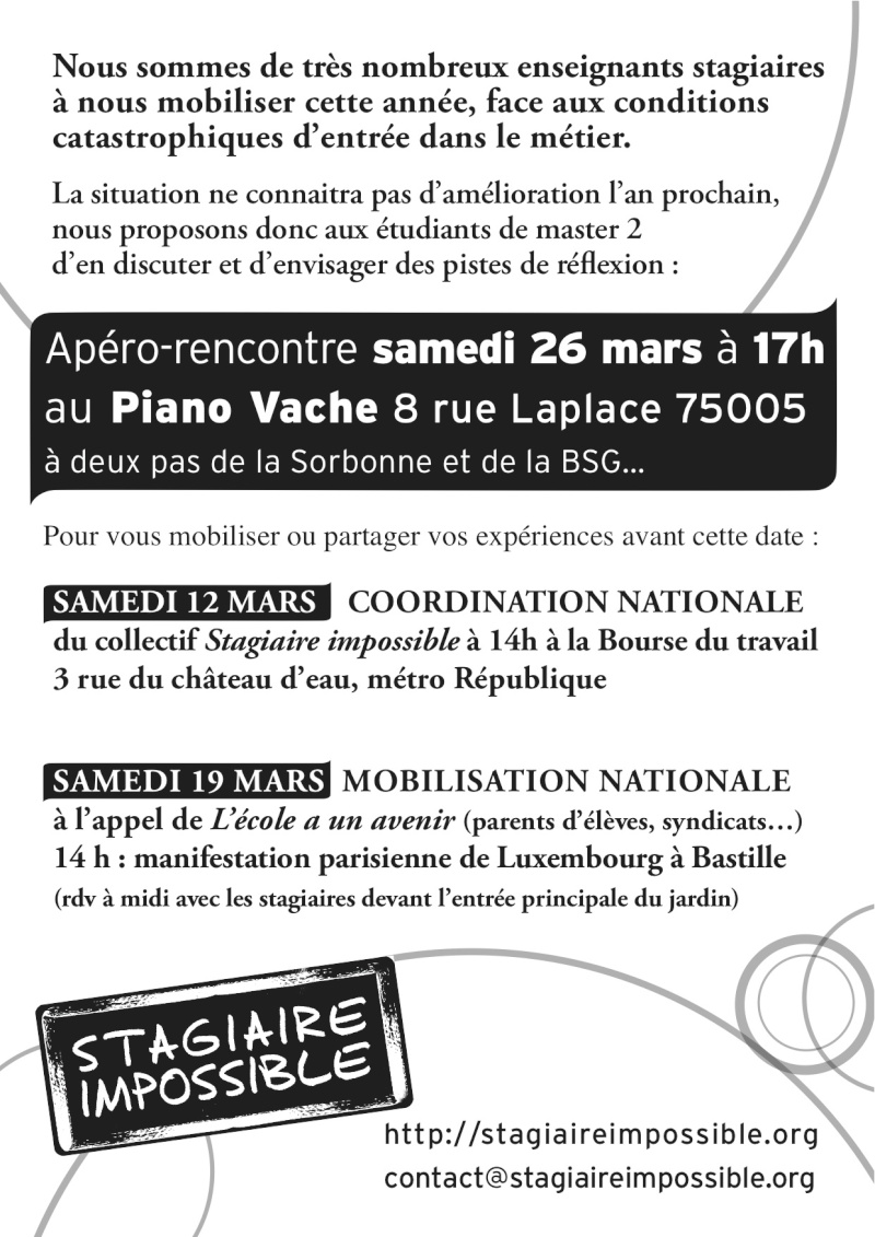 coordination nationale STAGIAIRES du 12/02/2011 & RDV STAGIAIRE IMPOSSIBLE Stagia10
