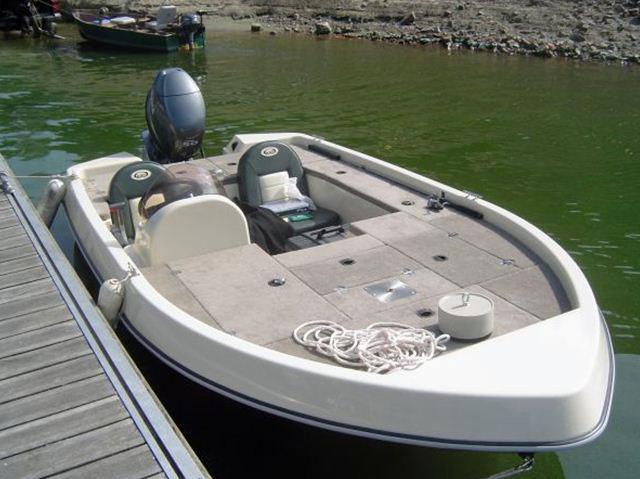 Souchon = mon nouveau bassboat 210