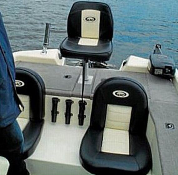 Souchon = mon nouveau bassboat 610