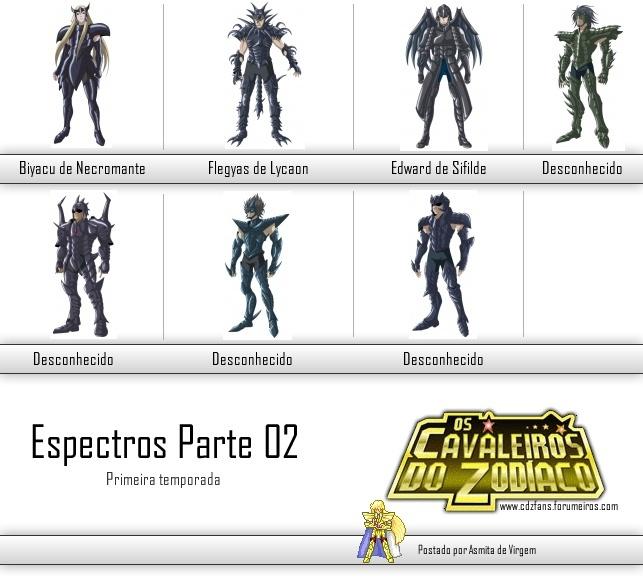 Personagens - The Lost Canvas - Primeira Temporada Espect11