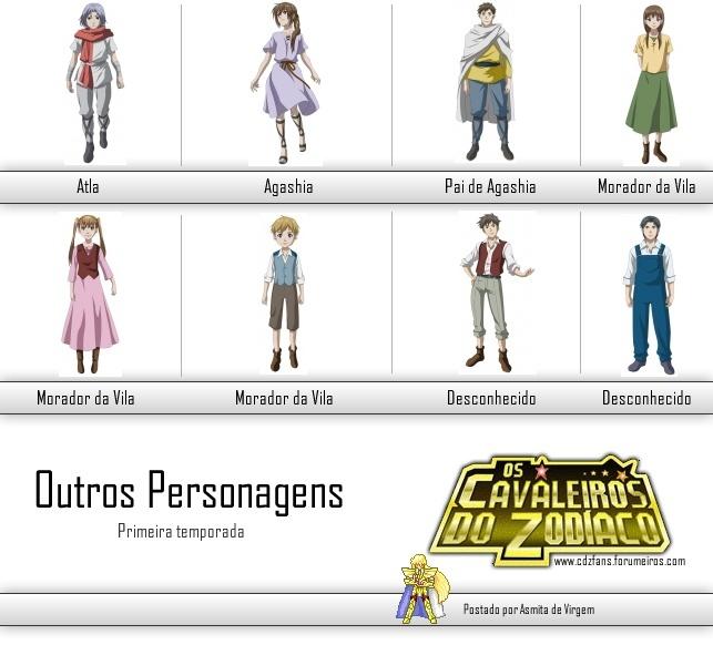 Personagens - The Lost Canvas - Primeira Temporada Outros10