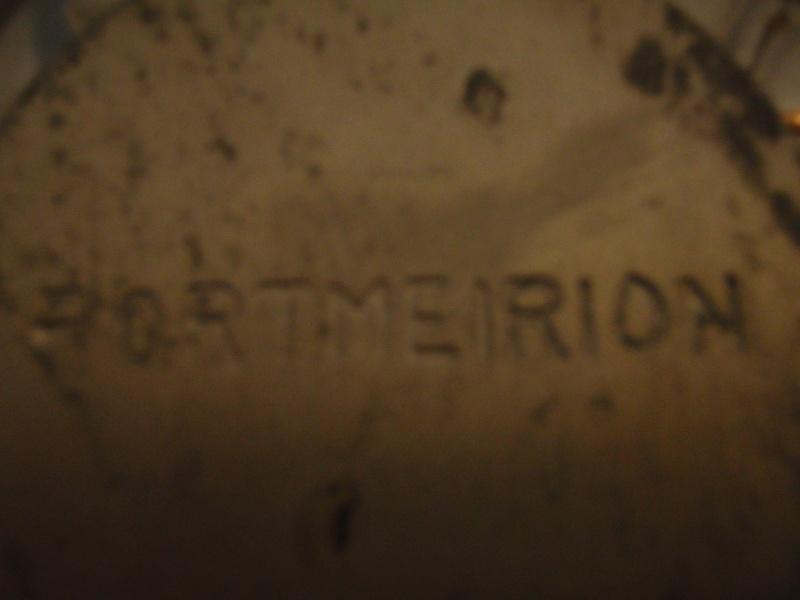 Portmeirion silvered glass bowl Pc111117