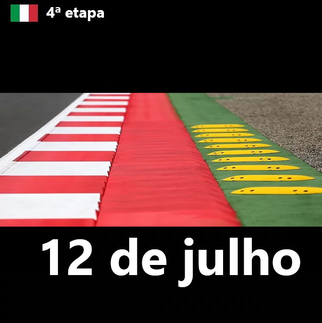 4ª ETAPA - MONZA (ITÁLIA) 12/07/2018 Mapa_e11