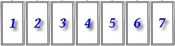 Le tirage en ligne ou des 7 lames Cartet10