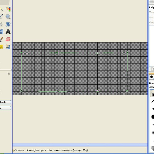 Tuto gimp: un cadre en métal de forme originale Tuto110