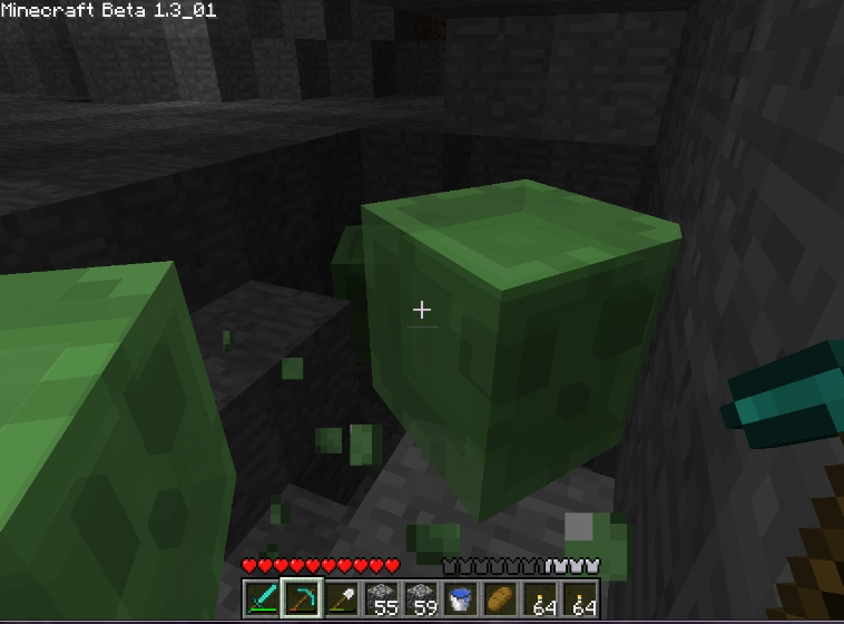 Minecraft (This game is beta but so addictive!) Slimes10