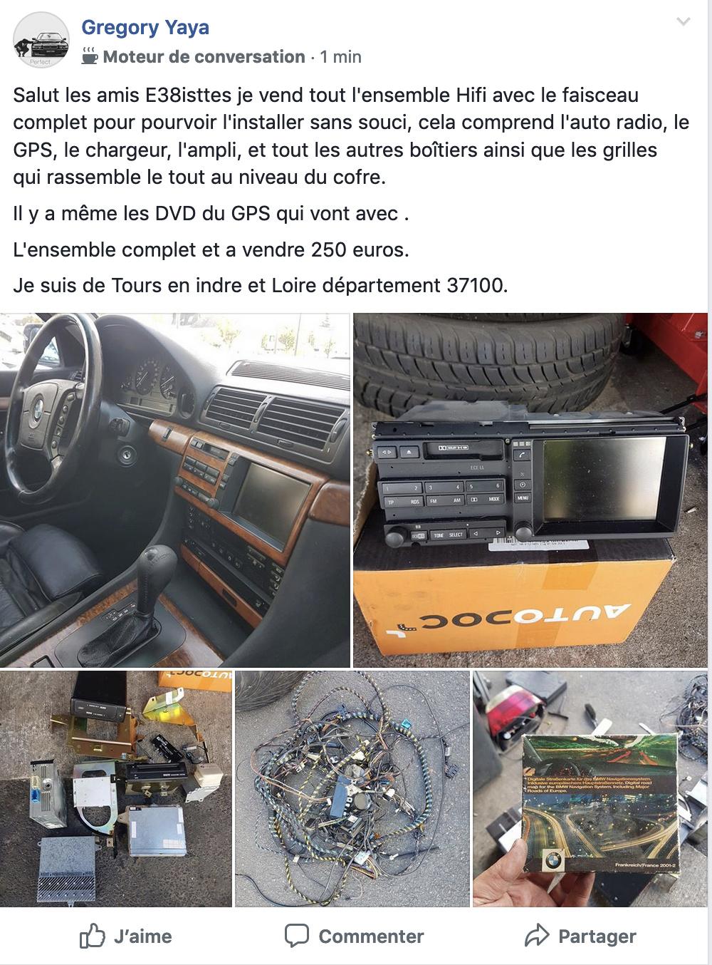 Avis changement autoradio GPS Captur10