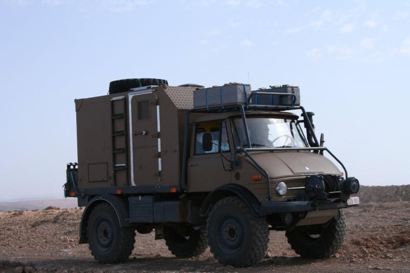 Mon Unimog 416 préparé raid Mariag15