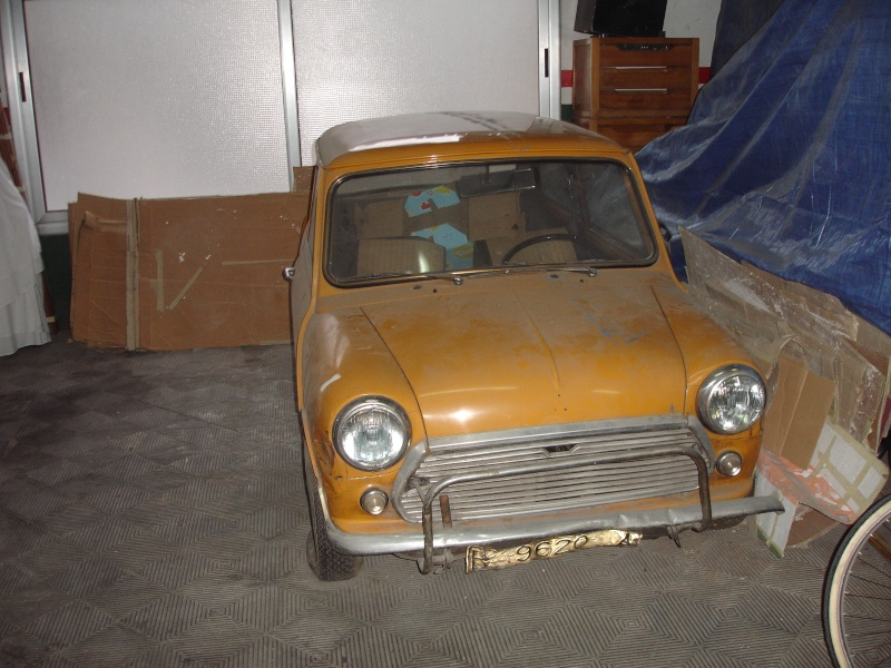 Mon Austin Mini 1000 de 1971 Dsc07011
