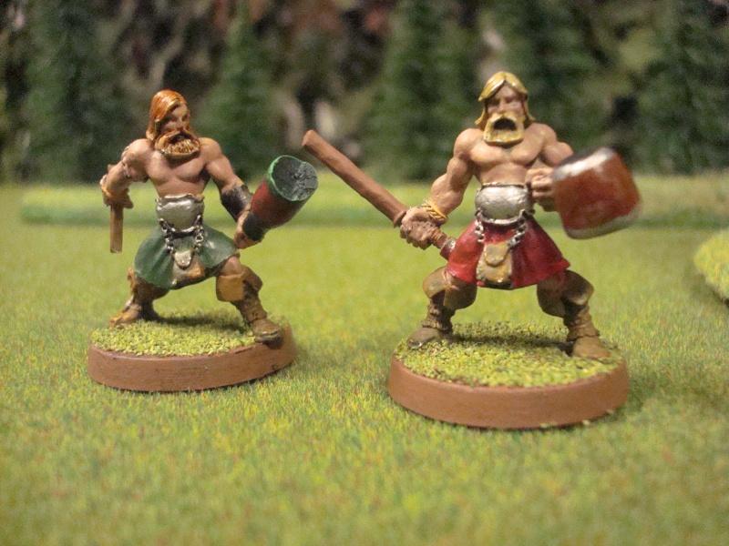 ostlander - An Ostlander warband from Albion Dsc01119