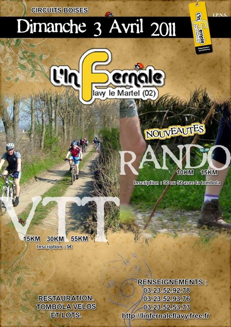 [Flavy le Martel (02)] Rando  L'infernale  le 03/04/2011 Affich11