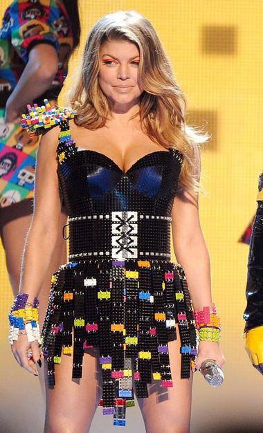 Fergie's Custom Legos Dress 00000710