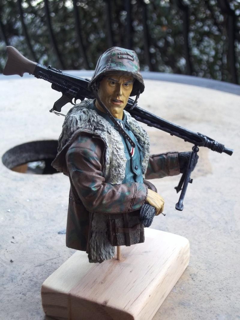 Buste mitrailleur 00510
