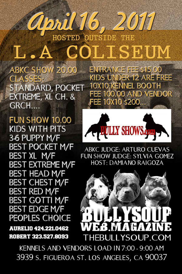 april 16 2011 show Bullys10