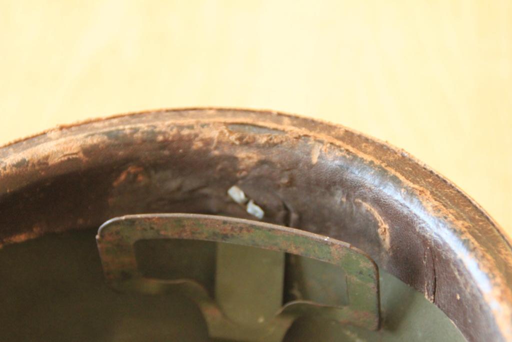 Casque Mod 35 Artillerie insigne 15 - NICO - JANV 4 - VENDU  Img_0123
