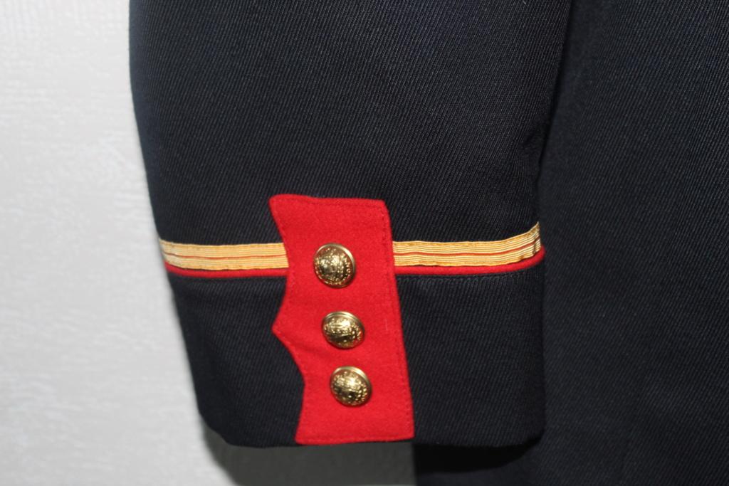 Vareuse d'adjudant chef de la Garde Républicaine -ALPINS-JANV1 - BAISSE DU PRIX - A CLOTURER  Img_2112