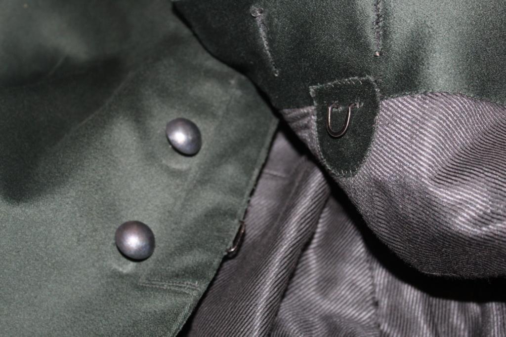 Vareuse Tunique Mod 21 de Lieutenant-Colonel des Chasseurs Forestiers  -ALPINS-JANV2 - A CLOTURER Img_2222