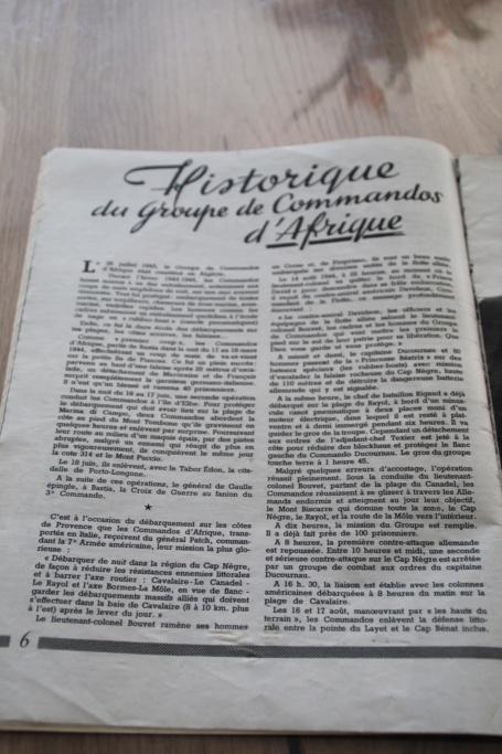 """Revue """"Rhin et Danube les Commandos d'Afrique"""" -ALPINS-AVRIL5 (terminé pour avril) - BAISSE DU PRIX Img_3015"""