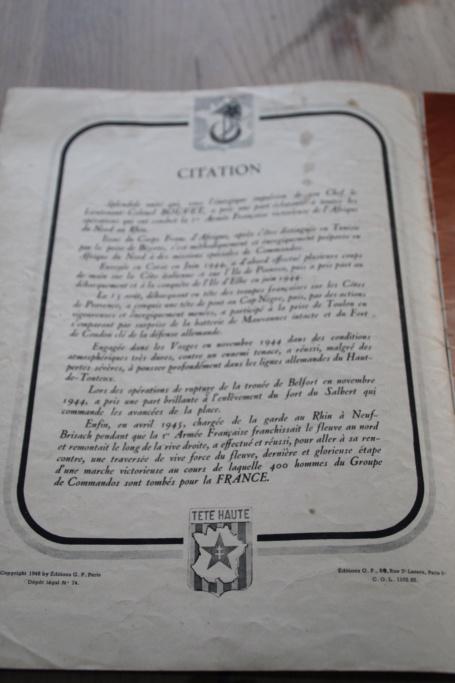 """Revue """"Rhin et Danube les Commandos d'Afrique"""" -ALPINS-AVRIL5 (terminé pour avril) - BAISSE DU PRIX Img_3016"""