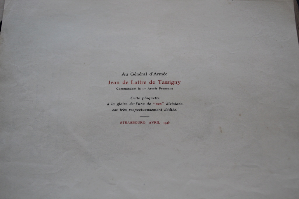 """Livre """"de l'AOF aux Bords du Rhin"""" - la 9ème Division d'Infanterie Coloniale -ALPINS-AVRIL3 - BAISSE DU PRIX Img_3024"""