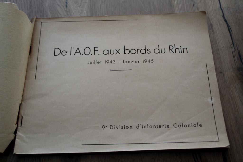 """Livre """"de l'AOF aux Bords du Rhin"""" - la 9ème Division d'Infanterie Coloniale -ALPINS-AVRIL3 - BAISSE DU PRIX Img_3025"""