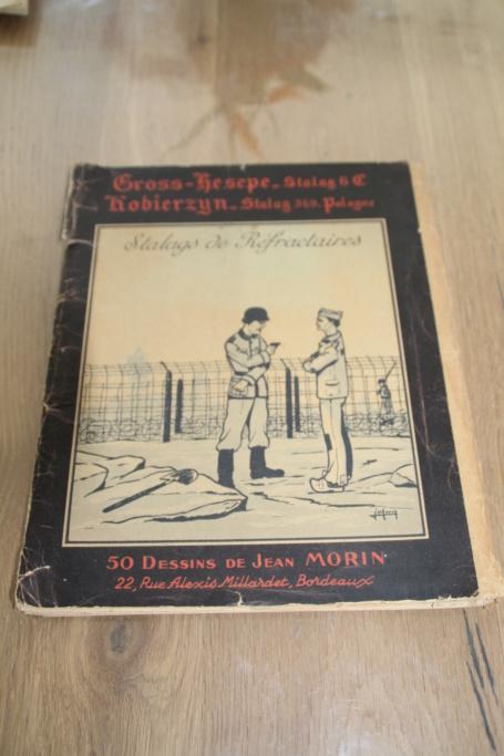 """Planche complète des dessins de Jean MORIN """"Stalag de Réfractaires"""" -ALPINS-AVRIL1 - BAISSE DU PRIX Img_3031"""