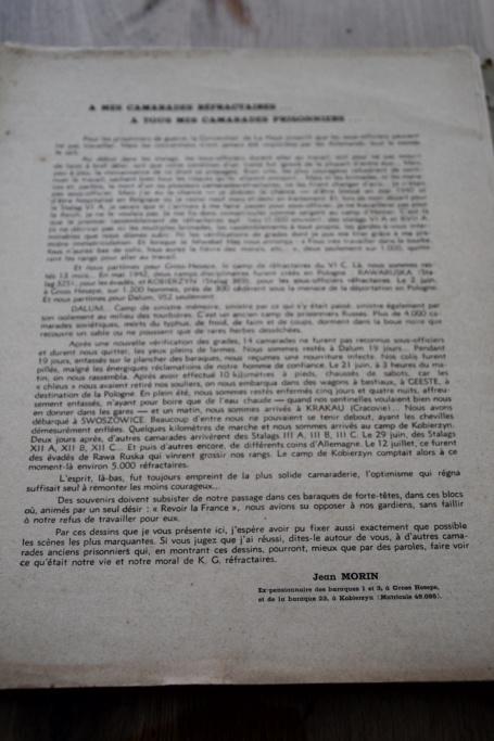 """Planche complète des dessins de Jean MORIN """"Stalag de Réfractaires"""" -ALPINS-AVRIL1 - BAISSE DU PRIX Img_3033"""