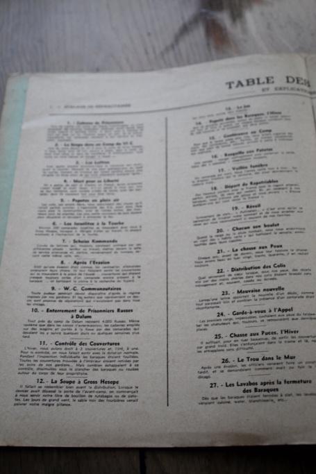 """Planche complète des dessins de Jean MORIN """"Stalag de Réfractaires"""" -ALPINS-AVRIL1 - BAISSE DU PRIX Img_3034"""
