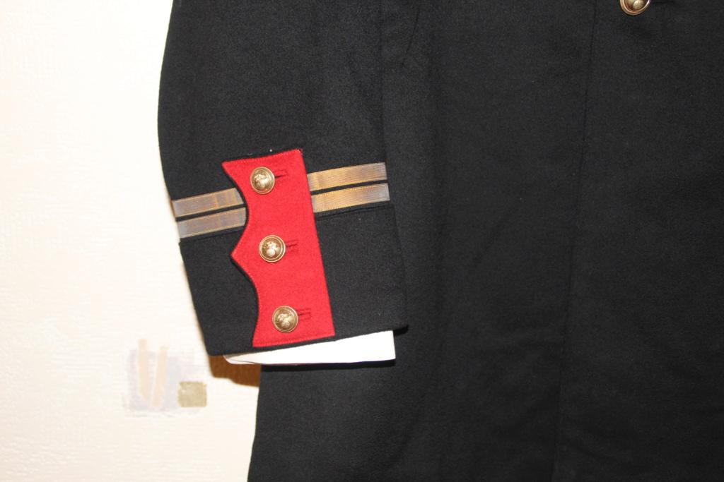 Vareuse nominative + Pantalon Mod 31 d'un Lieutenant du 4ème RI   ESC - JUIL1 - BAISSE DU PRIX - A CLOTURER  Img_3357