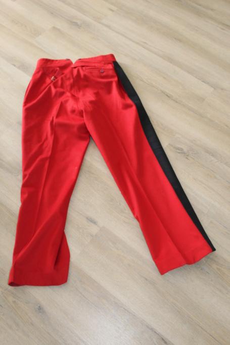 Vareuse nominative + Pantalon Mod 31 d'un Lieutenant du 4ème RI   ESC - JUIL1 - BAISSE DU PRIX - A CLOTURER  Img_3518
