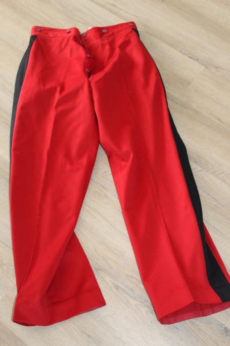 Vareuse nominative + Pantalon Mod 31 d'un Lieutenant du 4ème RI   ESC - JUIL1 - BAISSE DU PRIX - A CLOTURER  Img_3519