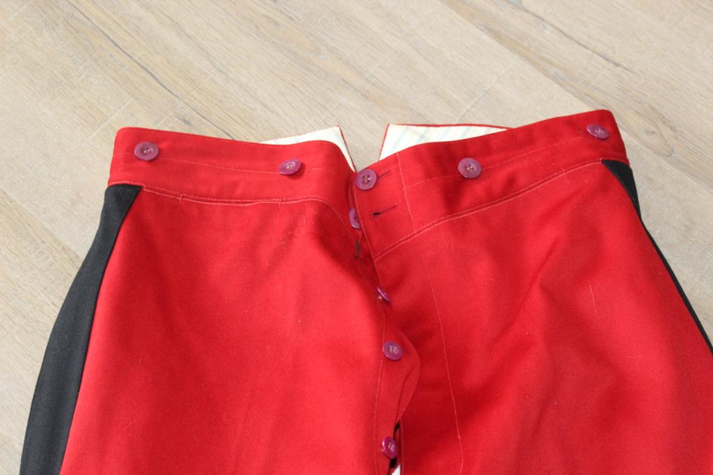 Vareuse nominative + Pantalon Mod 31 d'un Lieutenant du 4ème RI   ESC - JUIL1 - BAISSE DU PRIX - A CLOTURER  Img_3520