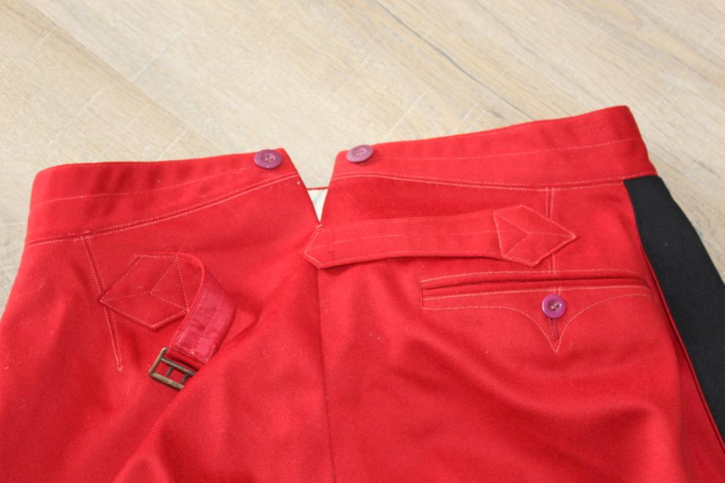 Vareuse nominative + Pantalon Mod 31 d'un Lieutenant du 4ème RI   ESC - JUIL1 - BAISSE DU PRIX - A CLOTURER  Img_3521