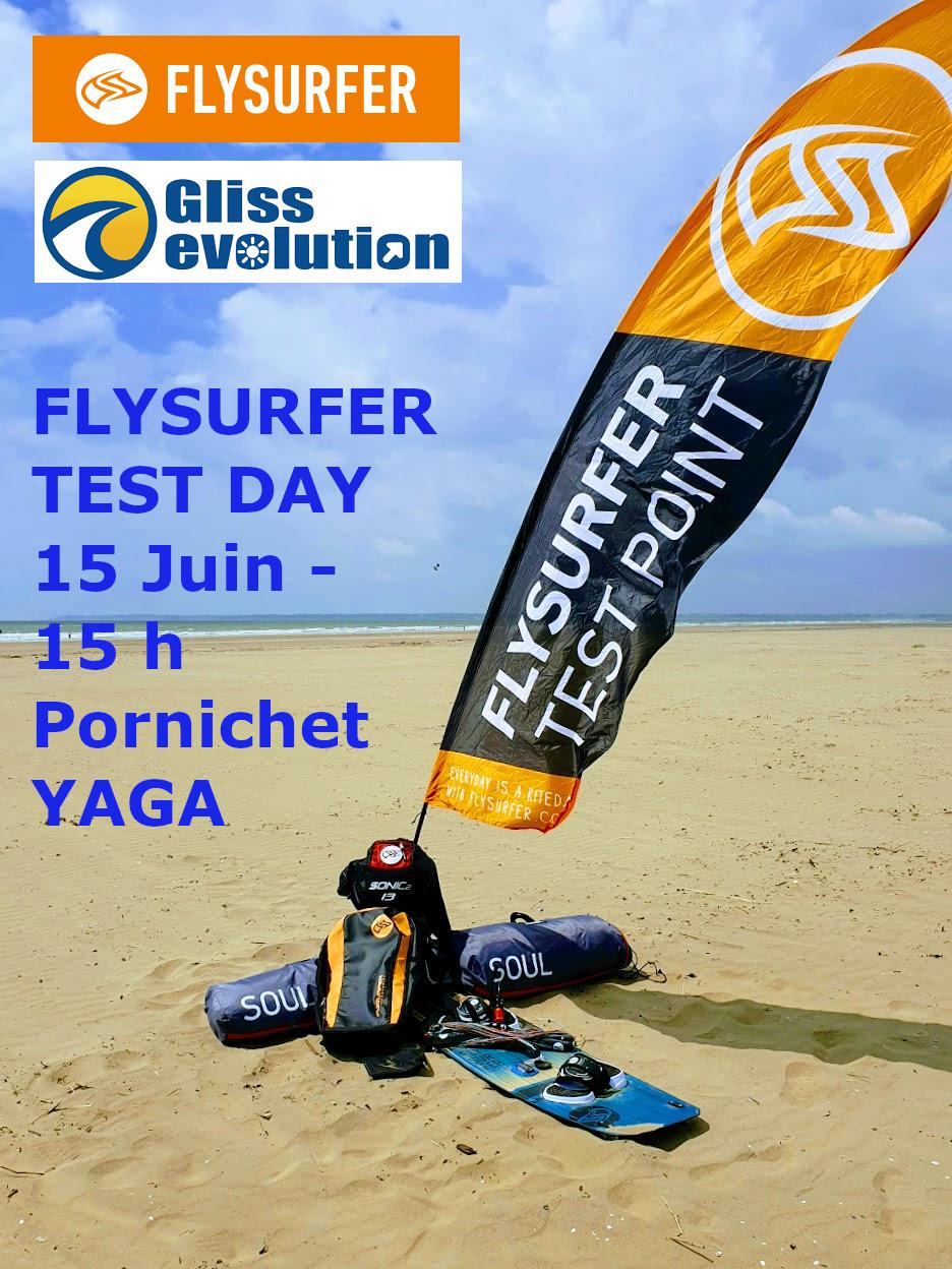TEST Flysurfer Samedi à Pornichet 20190510