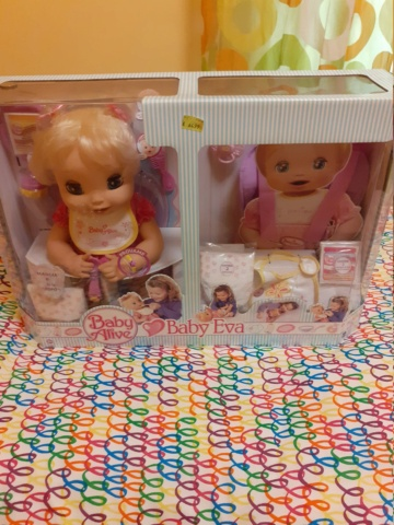 Vendo bambola baby eva super rara 20201119