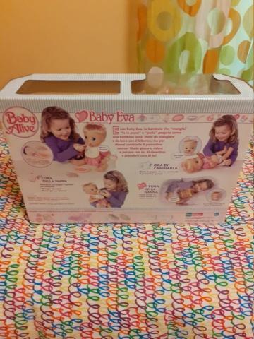 Vendo bambola baby eva super rara 20201120