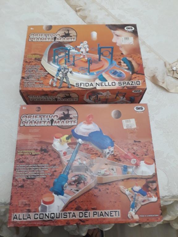 Obbiettivo pianeta Marte due giochi fondo di magazzino prezzo regalo 20201214