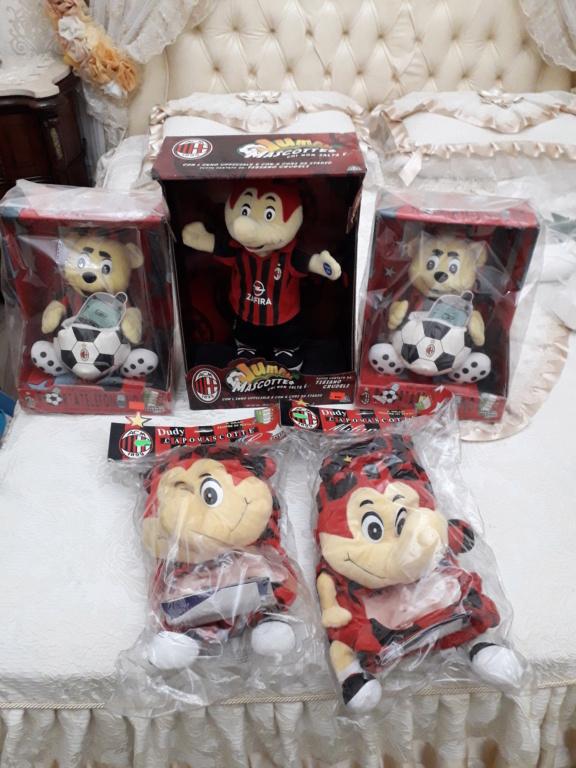 pupazzi mascotte Del mitico Milan prezzo regalo 20201215