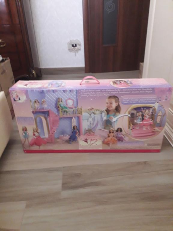 barbie castello 12 principesse anno 2006 fondo di magazzino 20210111