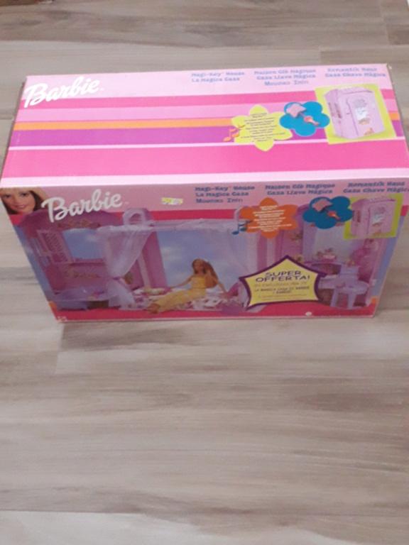 barbie - barbie casa magica anno 2000 fondo di magazzino 20210115