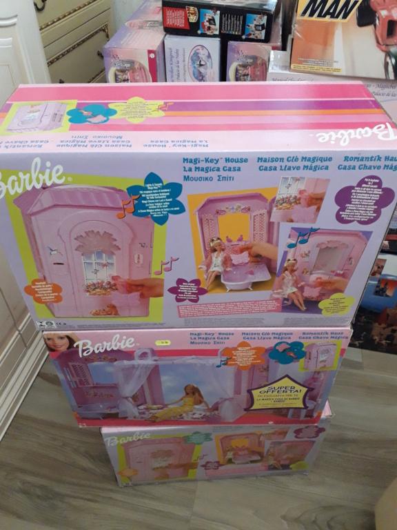 barbie - barbie casa magica anno 2000 fondo di magazzino 20210116
