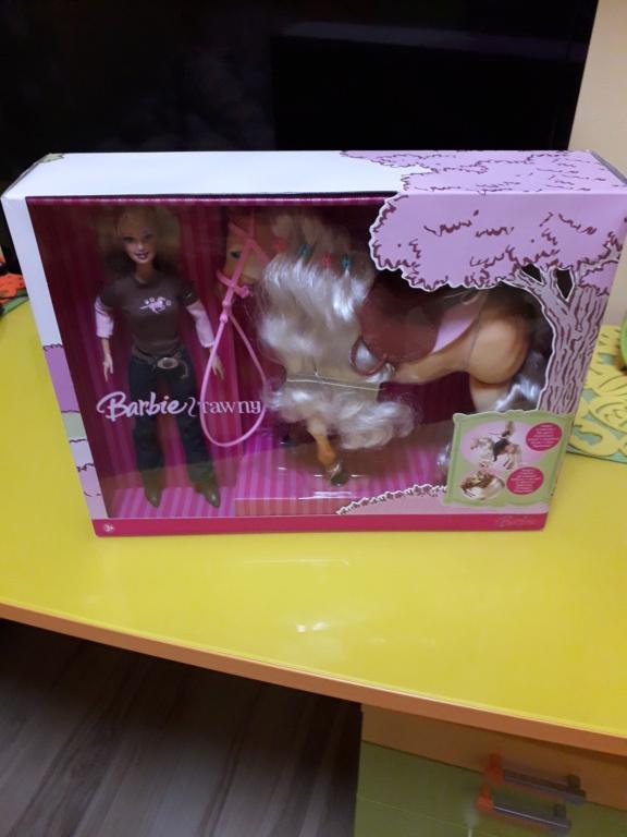 barbie - barbie tawny  a cavallo anno 2006 rara 20210117
