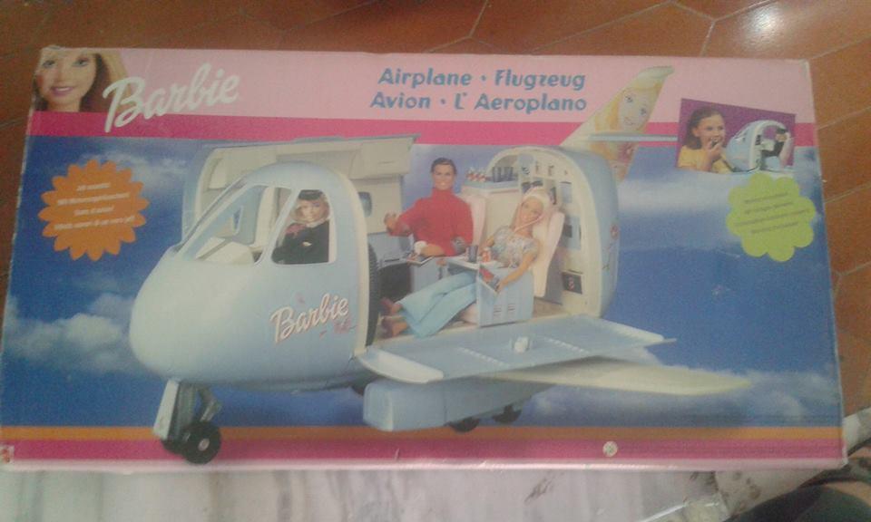 aereo di barbie anno 1998 prima stampa 46801010